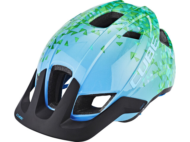 Cube CMPT Bike Helmet Children green/turquoise